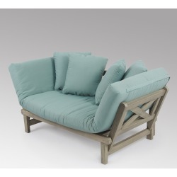 Westlake Convertible Sofa Daybed with Cushion - Blue - Cambridge Casual found on Bargain Bro India from target for $549.00