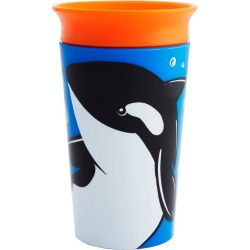 Munchkin Miracle 360° WildLove Sippy Cup - 9oz Orca found on Bargain Bro Philippines from target for $6.99