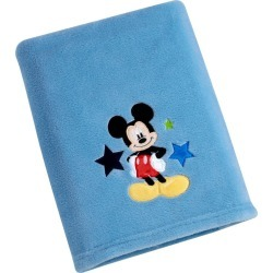 Disney Mickey Solid Coral Blanket, Blue found on Bargain Bro Philippines from target for $13.59