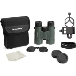 Celestron Nature DX 8x42 Binocular with Basic Smartphone Adapter - Black found on Bargain Bro India from target for $129.99