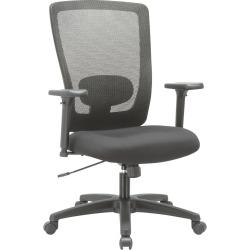 Alera Alera Envy Series Mesh High-Back Swivel/Tilt Chair, Black