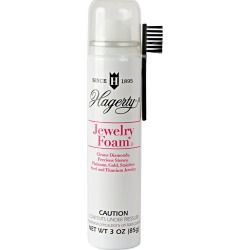 Hagerty Jewelry Foam (3.5 oz. Aerosol), Size: Small, Gold/White/Silver found on Bargain Bro India from target for $9.99