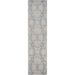 Vintage Rug - Light Blue/Ivory - (2'2