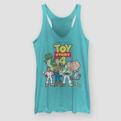Women's Toy Story Tank Top (Juniors') - Tahiti Blue XS found on Bargain Bro India from target for $25.50