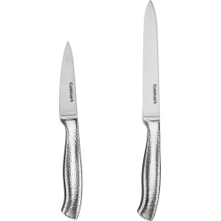 Cuisinart 2pc Utility and Pairing Set, Silver