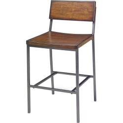 Sawyer Wood/Metal Counter Stool Java Pine - Progressive found on Bargain Bro India from target for $164.99