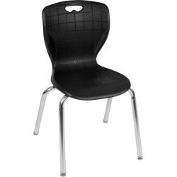 """18"""" Luke Stack Chair Black - Regency"""