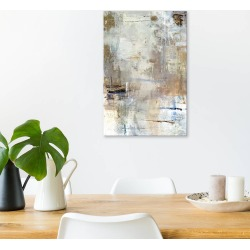 "26""x18"" Asking for White by Julian Spencer Unframed Wall Canvas Print Fair Beige - iCanvas"