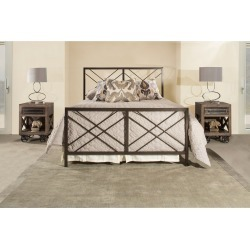 Twin Westlake Complete Bed Pewter - Hillsdale Furniture found on Bargain Bro India from target for $359.99