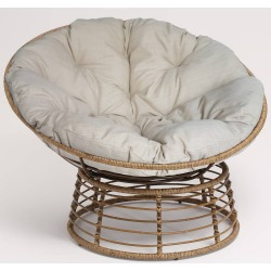 Wicker Papasan Chair - Brown - Opalhouse