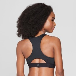 Women's Power Core Compression Medium Support Sports Bra - C9 Champion Black XL found on Bargain Bro India from target for $16.99