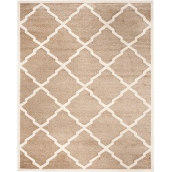 8'X10' Rectangle Patio Rug Wheat/Beige - Safavieh, Size: 8' X 10' found on Bargain Bro Philippines from target for $161.99