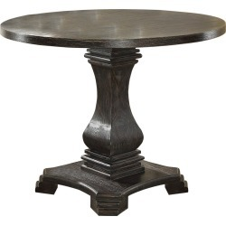 Iohomes Villa Rustic Round Dining Table Antique Black - HOMES: Inside + Out found on Bargain Bro Philippines from target for $583.29