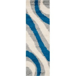 2'3X9' Shapes Loomed Runner Gray/Blue - Safavieh found on Bargain Bro India from target for $98.99