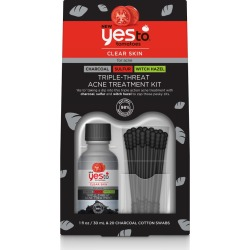 Yes To Tomatoes Triple-Threat Acne Treatment Kit found on MODAPINS from target for USD $12.99