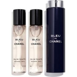 Chanel Bleu de Chanel Eau De Toilette Travel Spray 60ml (3x20ml) found on Makeup Collection from The Fragrance Shop for GBP 73.99