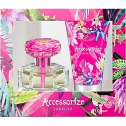 Accessorize Lovelily Accessorize 75ml EDT and 100ml body lotion found on Bargain Bro UK from The Fragrance Shop