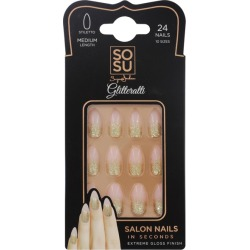 Sosu By Suzanne Jackson Sosu By Suzanne Jackson SOSU By Suzanne Jackson - Glitterati Medium Stiletto False Nails found on Makeup Collection from The Fragrance Shop for GBP 9.97
