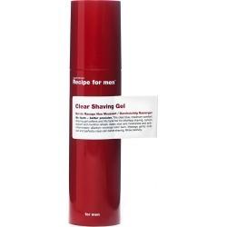 Recipe For Men Recipe For Men Clear Shaving Gel 100ml