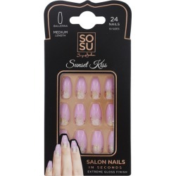 Sosu By Suzanne Jackson Sosu By Suzanne Jackson SOSU By Suzanne Jackson - Medium Ballerina False Nails - Sunset Kiss found on Makeup Collection from The Fragrance Shop for GBP 9.97