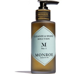 Monroe London Monroe London Cleanse & Shave 100ml found on Makeup Collection from The Fragrance Shop for GBP 24.36
