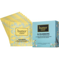 Butter London Butter London Nail Scrubbers 2in1 Prep & Lacquer Remover Wipes 10 Pack found on Makeup Collection from The Fragrance Shop for GBP 10.91