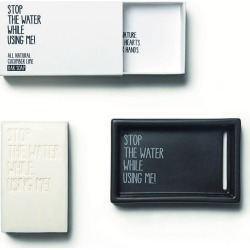 Stop The Water While Using Me Stop The Water While Using Me All Natural Soap Bar and Soap Dish Kit Cucumber Lime found on Bargain Bro UK from The Fragrance Shop