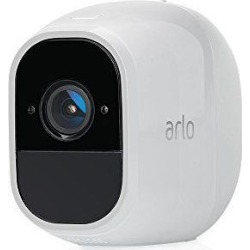 Arlo Technologies VMC4030P-100NAS Pro 2 Indoor/Outdoor 1080p Wi-Fi Wire-Free Security Camera, White