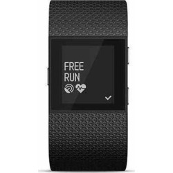 Fitbit FB501BKS Surge Small-Size Fitness Watch with Heart Rate Monitor - Black