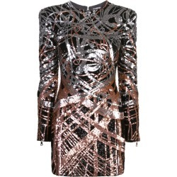 Sequinned Mini Dress found on MODAPINS from thewebster.us for USD $3278.00