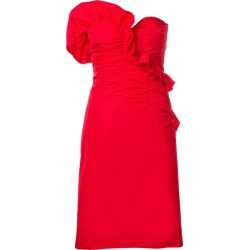 Ruched Strapless Dress found on MODAPINS from thewebster.us for USD $340.00