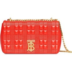 Burberry - RED Women's Small Quilted Check Lambskin Lola Bag - The Webster found on Bargain Bro Philippines from thewebster.us for $1490.00
