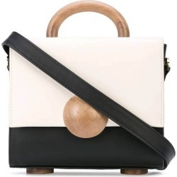 Bakari - Black & White Women's Tussaud Mini Color-blocked Handbag - The Webster found on Bargain Bro Philippines from thewebster.us for $660.00