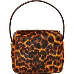 Edie Parker - Brown Women's Leopard Hot Box Bag - The Webster found on Bargain Bro Philippines from thewebster.us for $995.00