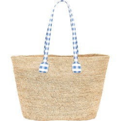 Côte Dazur Raffia Tote Bag found on MODAPINS from thewebster.us for USD $745.00