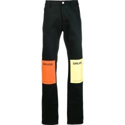 Raf Simons - Black Men's Drugs Patch Jeans - The Webster