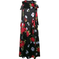 Bow Ribbon Floral Dress found on MODAPINS from thewebster.us for USD $585.00