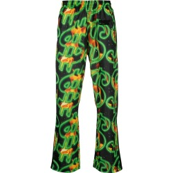 SSS World Corp - Multicolor Men's Cash And Fire Track Pants - The Webster