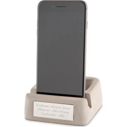 Phone and Accessory Concrete Holder