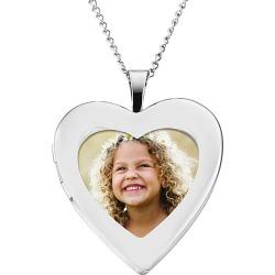 Sterling Silver Open Heart Locket