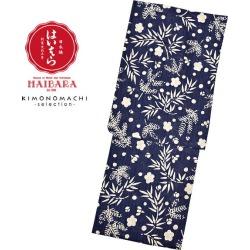 """Yukata lady's yukata latest for HAIBARA (thorn) brand yukata one piece of article """"bluish ground pine, bamboo, and plum"""" (9H-7) 2,019 years for women"""