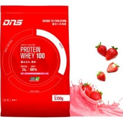 ▼3,150 g of ▼ DNS (D N S) プロテインホエイ 100 strawberry milk flavors (mass intakes type プロテインホエイプロテイン WHEY100 muscular workout protein protein powder) during the coupon distribution