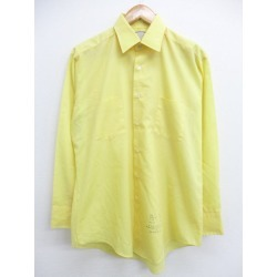 Old clothes long sleeves shirt Sears yellow yellow large size used men tops