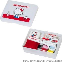 Yamakyu of sewing set Sanrio sewing set Hello Kitty why Tomi bamboo grass handicrafts