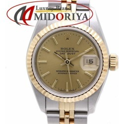 ROLEX Rolex 69173 date just SS/YG combination champagne gold Lady's /36364 watch