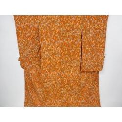 Crepe place older sister doll design long-sleeved kimono sect sou