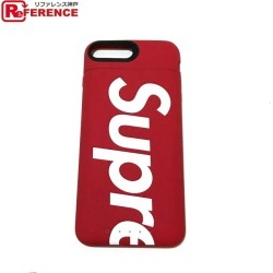 Supreme シュプリーム 18aw mophie iPhone Juice Pack air juice pack air mho fee eyephone case iPhone case red X black unisex mint condition