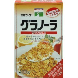 Granola one piece of article [cancellation, change, returned goods impossibility]