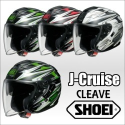 Cleave Jakeruzcleve Open Face Helmet Jet