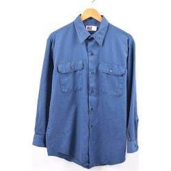Men L vintage /wbi2427 in the 80s made in Big Mac BIGMAC long sleeves work shirt USA